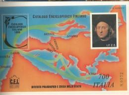 FOGLIETTO ERINNOFILO IPZS -CATALOGO ENCICLOPEDICO ITALIANO -COLOMBO -N°572 - Cinderellas