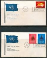 FDC UNO 1969 - New-York - Siège De L'ONU