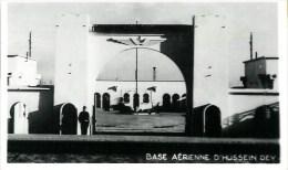Algérie  Base Aérienne De D'HUSSEIN DEY  - Vue Partielle De L'entrée De La Place D'honneur (carte Photo) - Autres