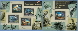 ca14224ab Central African 2014 Seabirds Pelican 2 s/s