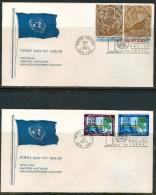 FDC UNO 1969,1970 - New-York - Siège De L'ONU