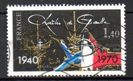 FRANCE. N°2114 Oblitéré De 1980. Général De Gaulle. - De Gaulle (General)
