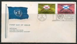 FDC UNO 1972 - Ohne Zuordnung