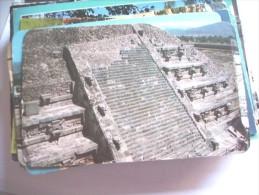 Mexico El Templo De Quetzalcoatl - Mexico