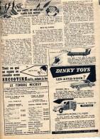 Publicite ( Journal Mickey) Voiture Dinky Toys 2cv Incendie - Publicidad