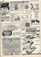 Publicite ( Journal Mickey) Voiture Dinky Toys  Crayon Carand'ache - Publicidad