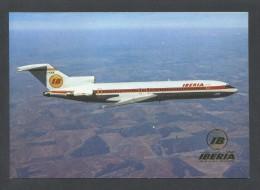 España. IBERIA. *Boeing 727 - 256* Dep. Legal B.17624-XVI. Nueva. - 1946-....: Moderne