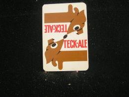 Playing Cards / Carte A Jouer / 1 Dos De Cartes De La Brasserie - Brouwerij  , Alliés  Marchienne-au-Pont, Tek-Ale  .- - Cartes à Jouer