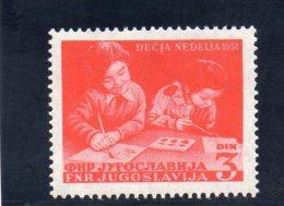 YOUGOSLAVIE 1951 ** - 1945-1992 Repubblica Socialista Federale Di Jugoslavia