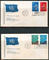 FDC UNO 1970 - New-York - Siège De L'ONU