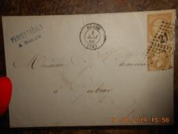 AF_17-lettre De Macon..a Voir - 1849-1876: Periodo Clásico