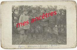 Carte Photo Identifiée-Marcel TRIPTOLEME, ROYER-soldats 30e Régiment -souvenir De Noyelles En Chaussée - Guerre, Militaire