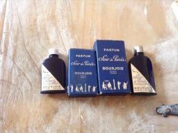 Rare Parfum Soir De Paris Bourjois Avec Boîte D Origine - Miniature Bottles (in Box)