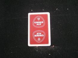 Playing Cards / Carte A Jouer / 1 Dos De Cartes De La Brasserie - Brouwerij - Martinas, Merchtem - Ginder-Ale, - Cartes à Jouer