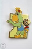 Pan American Games - Amigo Mascot - Discus Throw - Pin Badge #PLS - Pin
