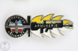 France - Gendarmerie Nationale - Armurerie - Pin Badge #PLS - Police