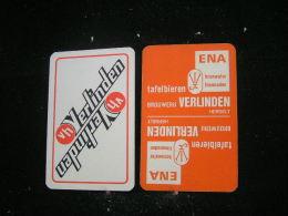 Playing Cards / Carte A Jouer / 1 Dos De Cartes De La Brasserie - Brouwerij -  Verlinden - Herselt - - Spielkarten