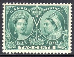 Canada Scott #  52 1897  ** Jubilee Neuf Sans Charnière MNH - Unused Stamps