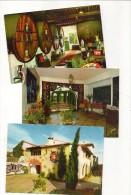 66 Perpignan Saint Vicens Lot 3CPM Céramiques Galerie Façade YVON Jeanlurçat EKB5240 5238 5236 TBE - Perpignan