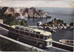 TAORMINA  /   Isola Bella E Capo S. Andrea _ Pulman - Catania