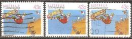 Australie - 1990 - Planche à Roulette – YT 1181, 1181a Et 1190 Oblitérés - Skateboard