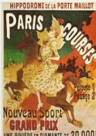 6 - PARIS COURSES - DESSIN : CHERET - Chéret