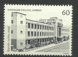 INDIA, 1989, Sydenham College Bombay,  MNH, (**) - Inde