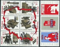 Polonia 1971 Nuovo** - Mi.2124/31  Yv.1971/8 - 1944-.... Repubblica