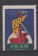 Foire De Paris Mai 1930 - Andere