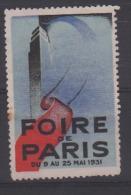 Foire De Paris 8 Au 25 Mai 1931 - Andere