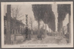 21--Route De VENAREY LES LAUMES--attelage--animé - Venarey Les Laumes