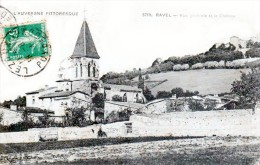 RAVEL - Vue Générale Et Le Château - Très Beau Plan - Autres Communes