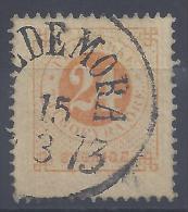 SUEDE -  1872-75 -    N° 22 (B)  - 1er CHOIX - OBLITERE - TB - - Suède