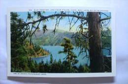 Blue Creek, Lake Coeur D'alene, Idaho. Wolf Lodge Bay In The Distance - Etats-Unis