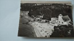 29 CONCARNEAU -LE CABELLOU HOTEL DE LA BELLE ETOILE BON ETAT  TIMBREE 1964    ECRITE  VOIR LES 2 SCANS - Concarneau