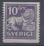 SUEDE -  1925-26 -    N° 195 B -  DENTELE 13 VERTICAL -  X - B - - Sweden