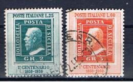 I+ Italien 1959 Mi 1029-30 Sizilien - 6. 1946-.. Repubblica