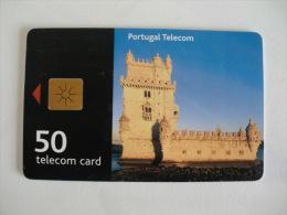 Phonecard/ Telécarte Telecom Torre De Belém - 50 Impulsos Portugal Tirage 20000 Ex. - Portugal