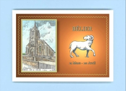 CP AC 88125 - CARTE POSTALE DESSIN Avec Signe Du Zodiaque BELIER - 88 BAN DE LAVELINE - France