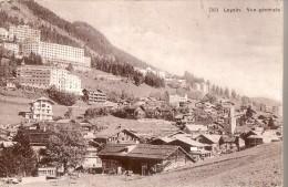 LEYSIN: Vue Générale - VD Vaud