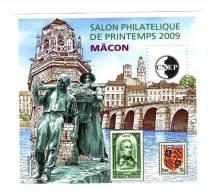 Bloc CNEP N° 53 : Salon De Printemps , Mâcon 2009 . Voir Le Scan . Cote Maury : 13 € . - CNEP