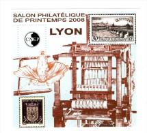 Bloc CNEP N° 50 : Salon De Printemps , Lyon 2008 . Voir Le Scan . Cote Maury : 13 € . - CNEP