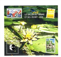 Bloc CNEP N° 51 : Salon Du Timbre Et De L´écrit 2008 . Voir Le Scan . Cote Maury : 13 € . - CNEP