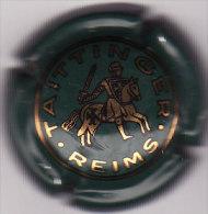 CAPSULE DE CHAMPAGNE TAITTINGER N° 43  VERT FONCE  COTE 8.00 EURO - Taittinger