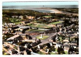 50 - Avranches - Vue Aérienne - Place Patton - Baie Du Mont Saint Michel - Editeur: Combier N° 76.65 - Avranches