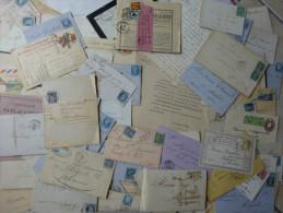 LOT et COLLECTION de  lettres et marques postales XVIII -> XX �me / voir les 18 scans