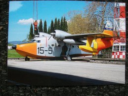 Cartolina GRUMMAN ALBATROS HU-16C ALBATROSS   SAR 15-5  IDROVOLANTE  HYDRAVION - 1946-....: Modern Era