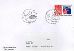 Lote F-Fr100, Francia, 1999, FDC, Sobre, Cover, Philex France, Deporte, Sport, Olympic - FDC