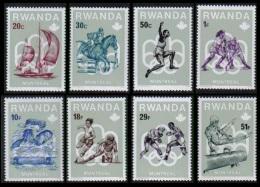 RWANDA - 737/744** - Pr�-Olympiques de Montr�al