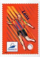 Lote F-Fr110, Francia, 1998, Entero Postal, Postal Stationany, World Cup Football, Soccer, Lens - Enteros Postales